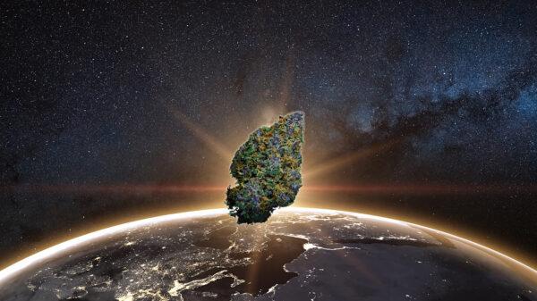 Mandan marihuana al espacio