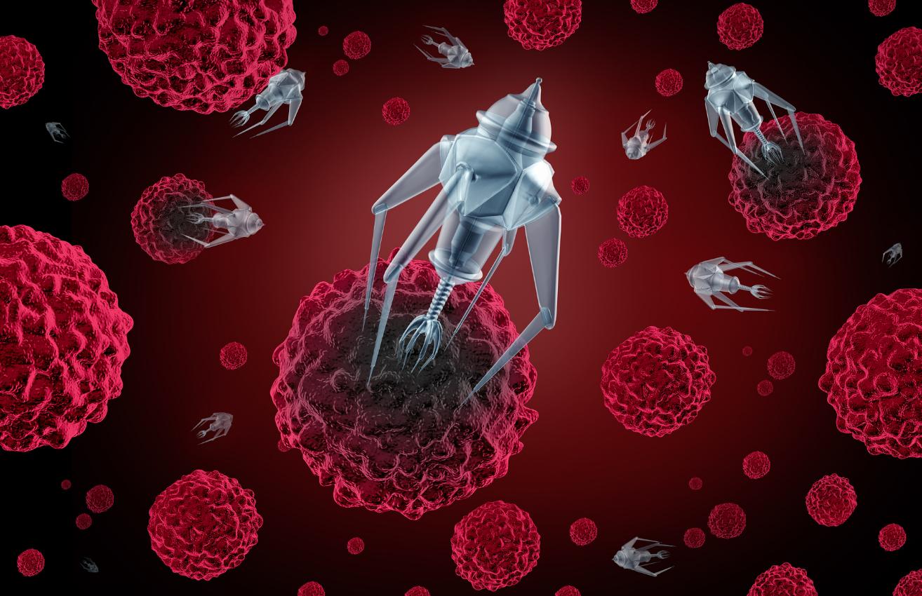 Nanodrones Y Cannabinoides Para Tratar El Cáncer De Pulmón